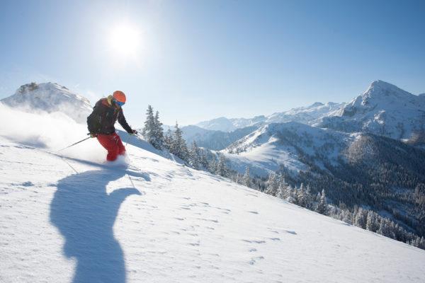Ferien Kleinarl Skifahren
