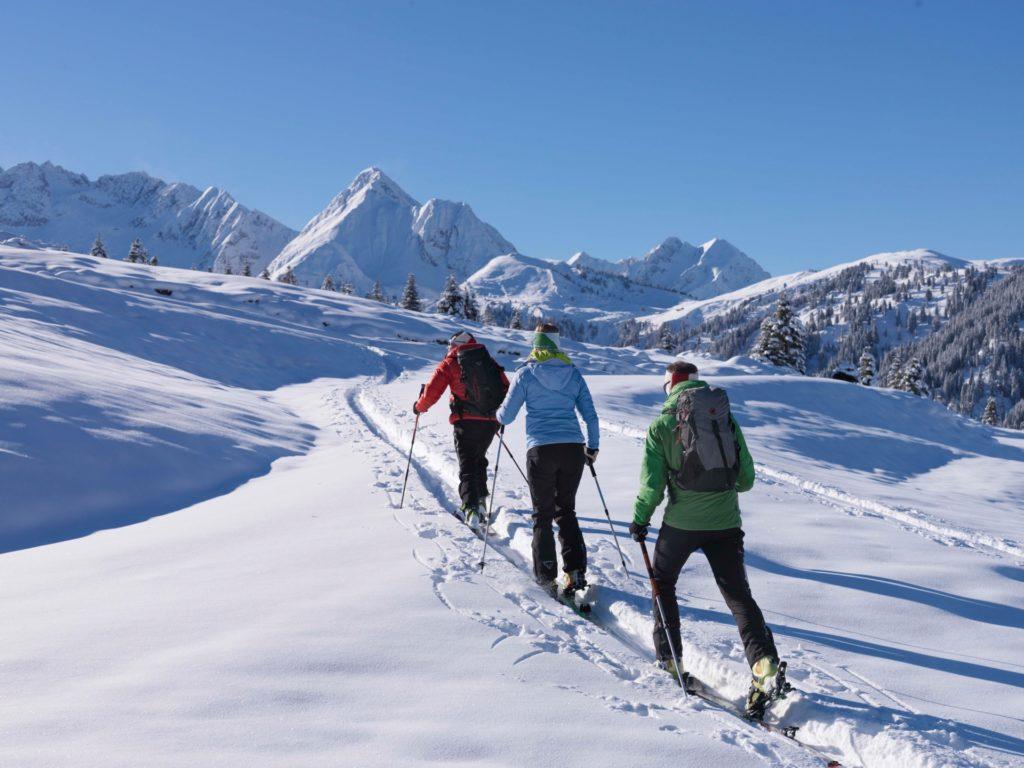 Ferien Kleinarl Skitouren