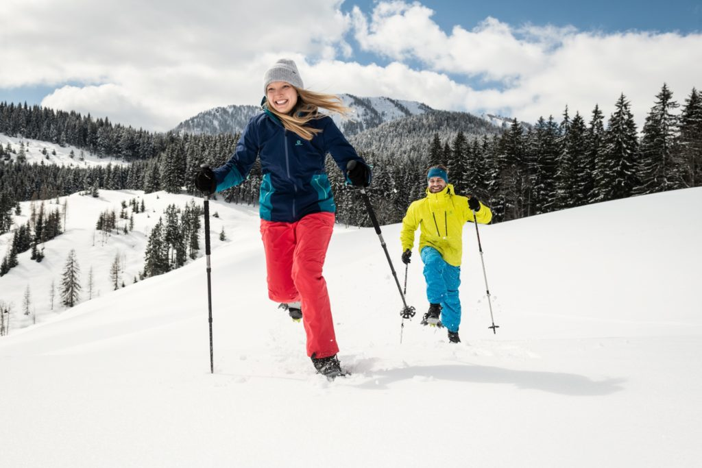 Ferien Kleinarl Schneeschuhwandern